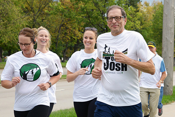 Community invited to participate in a virtual Joggin' with Josh walk/run Sept. 12